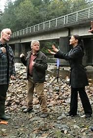 Matt Frewer, Dave Foley, Colin Ferguson, and Erica Cerra in Eureka (2006)