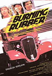 Burning Rubber Poster