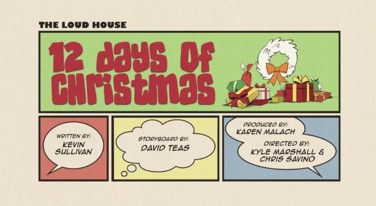 The Loud House: 12 Days of Christmas (2017)