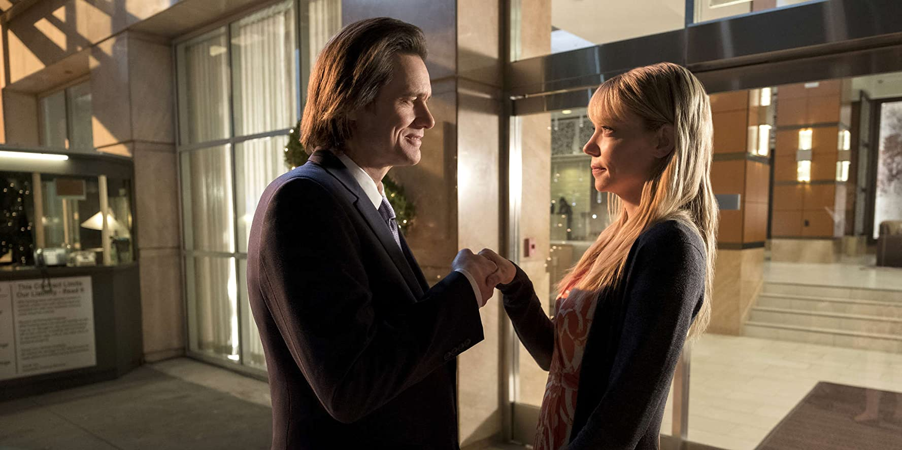 Jim Carrey and Riki Lindhome in Kidding (2018)