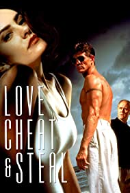 Eric Roberts, Mädchen Amick, and John Lithgow in Love, Cheat & Steal (1993)
