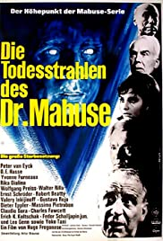 The Death Ray of Dr. Mabuse (1964) Poster - Movie Forum, Cast, Reviews