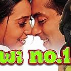 Karisma Kapoor, Salman Khan, and Sushmita Sen in Biwi No. 1 (1999)
