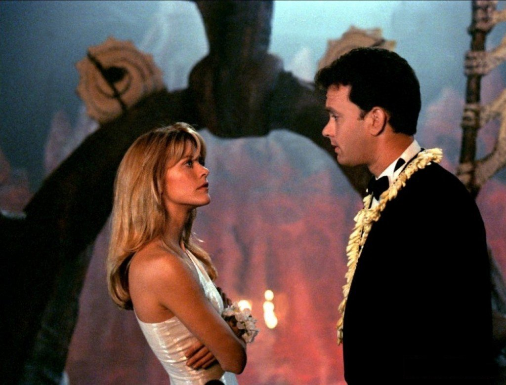Tom Hanks and Meg Ryan in Joe Versus the Volcano (1990)