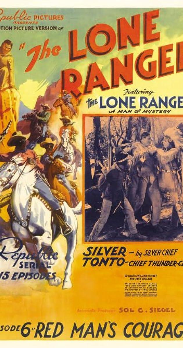The Lone Ranger 1938 Imdb