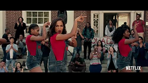 """Jamilah Bishop (Megalyn Echikunwoke) seems to excel at everything: She's president of her sorority, captain of the step dance crew, liaison to the college dean and a star student who is on her way to to Harvard Law School.   But when Jamilah is asked to teach a misbehaving, mostly white sorority how to step, success seems impossible. Without telling her own sorority sisters, Jamilah begins training rivals Sigma Beta Beta (SBB) for the """"Steptacular"""" competitive dance competition."""