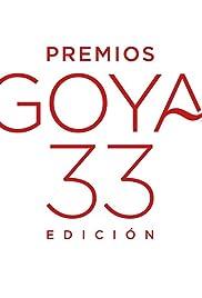 Premios Goya 33 edición Poster