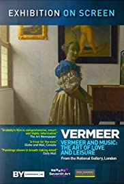 Exhibition on Screen: Vermeer and Music Poster