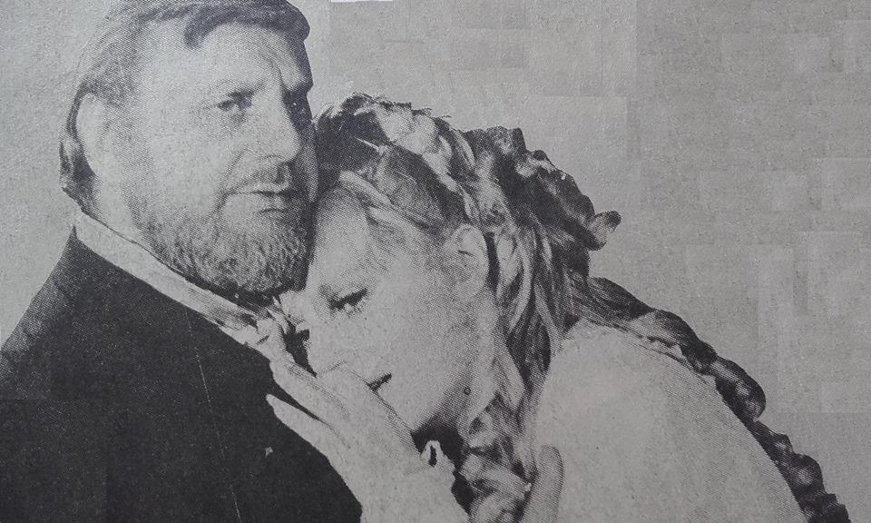 Estela Molly and Raúl Rossi in Alta comedia (1965)