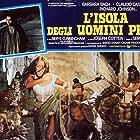 Barbara Bach, Claudio Cassinelli, and Beryl Cunningham in L'isola degli uomini pesce (1979)