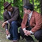 Josh Gad and Chadwick Boseman in Marshall (2017)