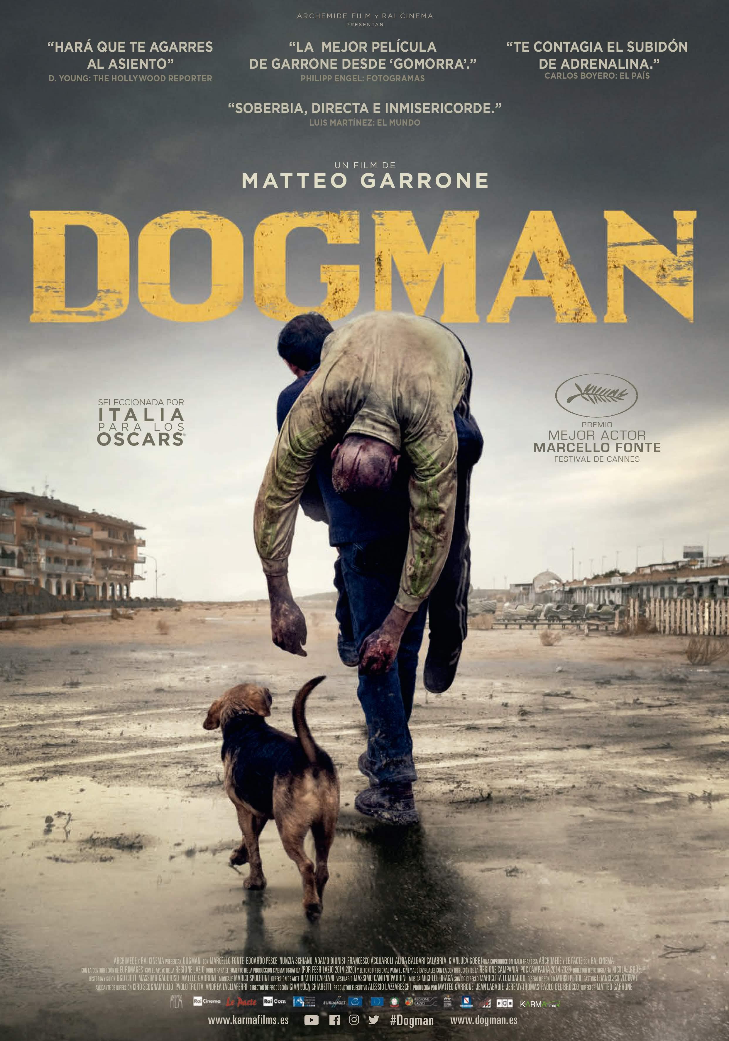 Edoardo Pesce and Marcello Fonte in Dogman (2018)