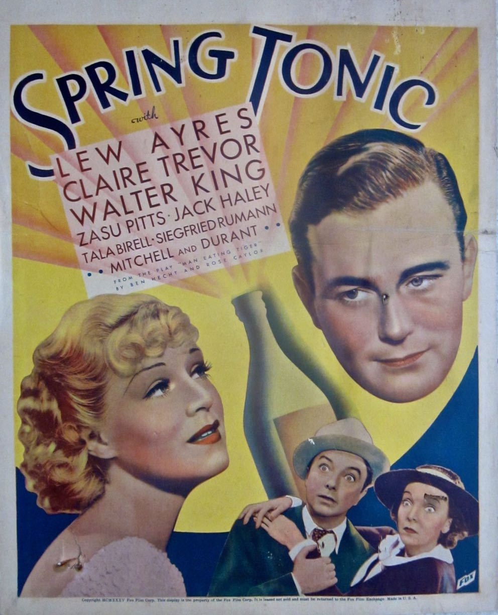 Lew Ayres, Jack Haley, Zasu Pitts, and Claire Trevor in Spring Tonic (1935)