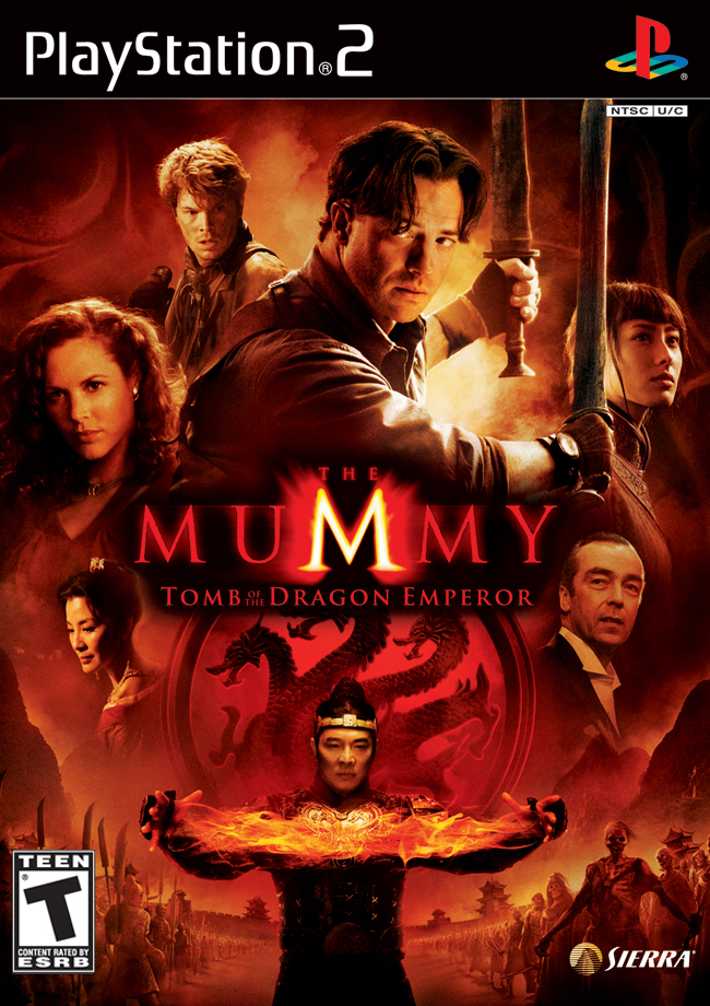 The Mummy Tomb Of The Dragon Emperor Video Game 2008 Imdb