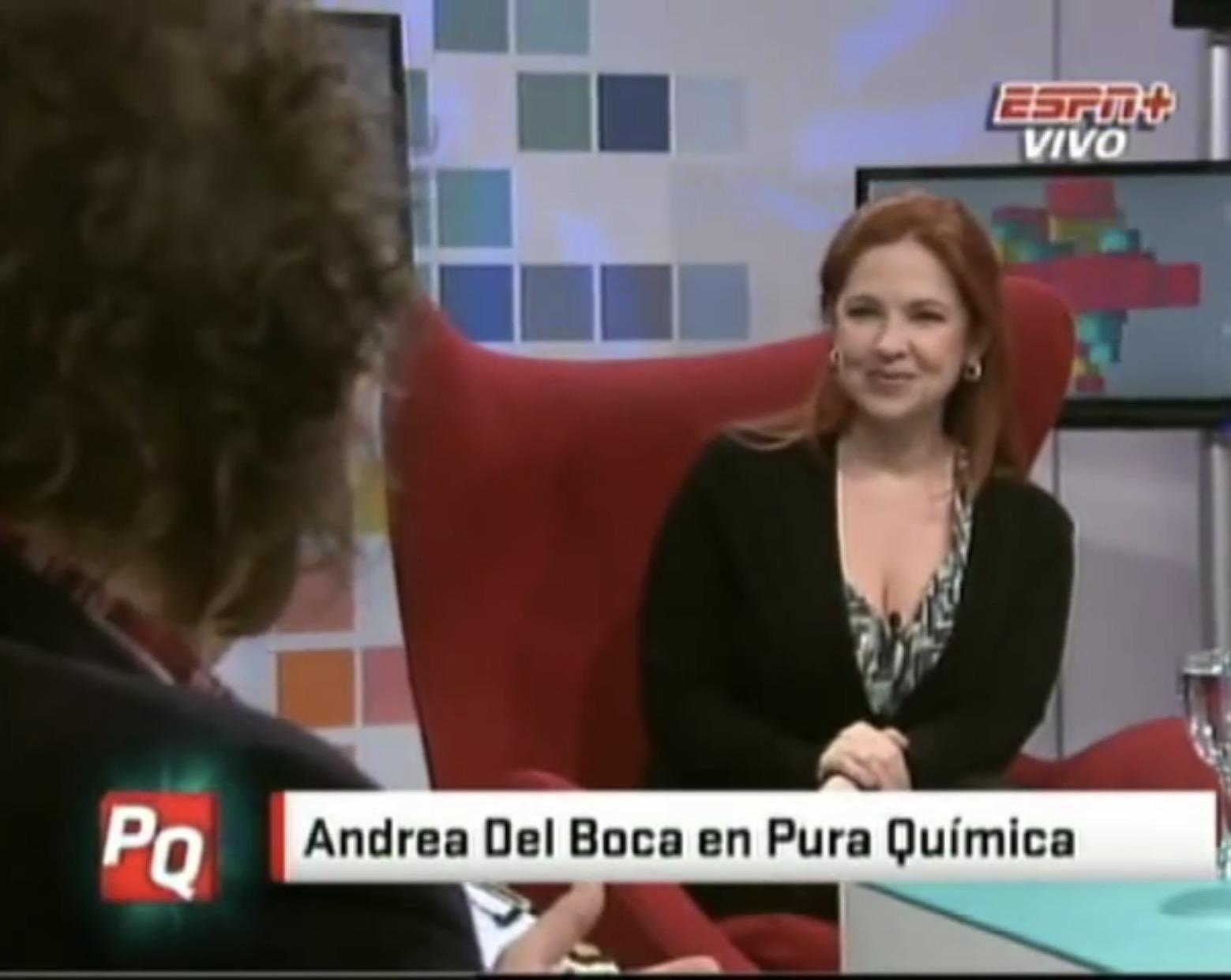Andrea Del Boca in Pura Química (2010)
