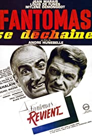 Fantômas se déchaîne (1965) Poster - Movie Forum, Cast, Reviews