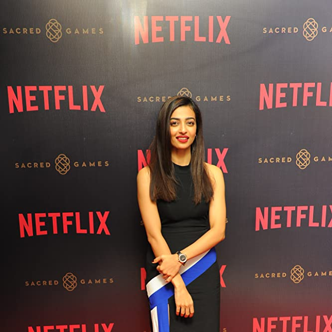 Radhika Apte at an event for Sacred Games (2018)