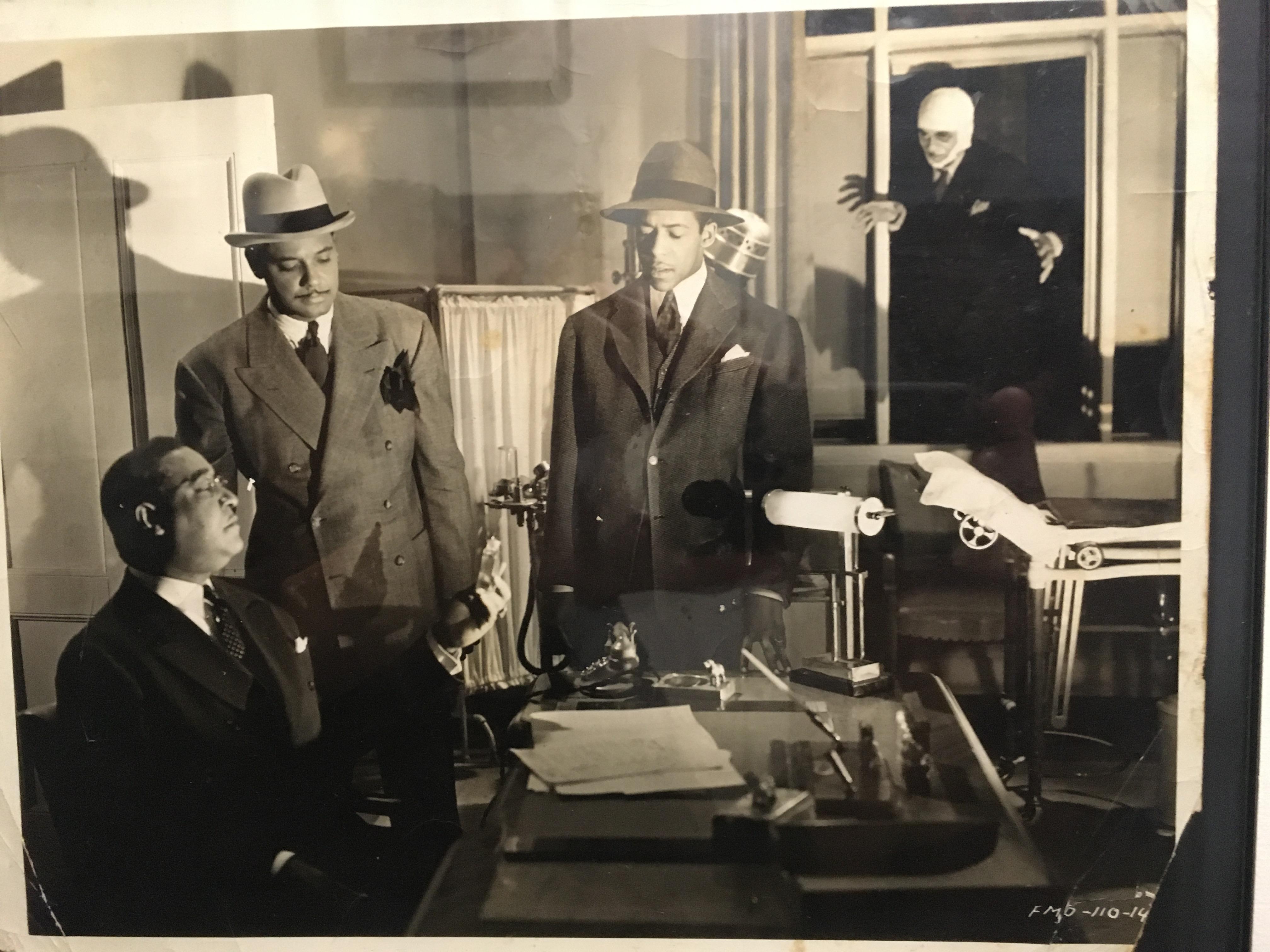 Niel Webster in Four Shall Die (1940)