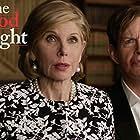 Christine Baranski and Dylan Baker in The Good Fight (2017)