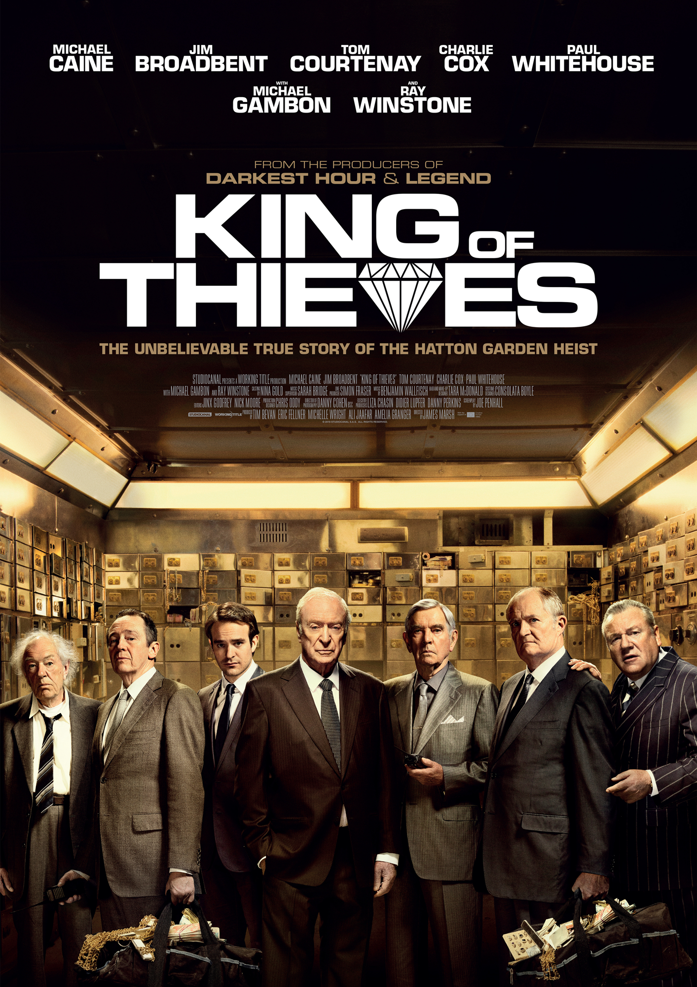 VAGIŲ KARALIUS (2018) / KING OF THIEVES