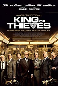 Michael Caine, Jim Broadbent, Michael Gambon, Tom Courtenay, Paul Whitehouse, Ray Winstone, and Charlie Cox in King of Thieves (2018)