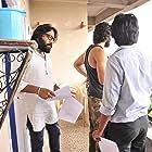 Vijay Deverakonda, Rahul Ramakrishna, and Sandeep Reddy Vanga in Arjun Reddy (2017)
