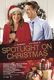 Tori Anderson and Victor Zinck Jr. in Spotlight on Christmas (2020)
