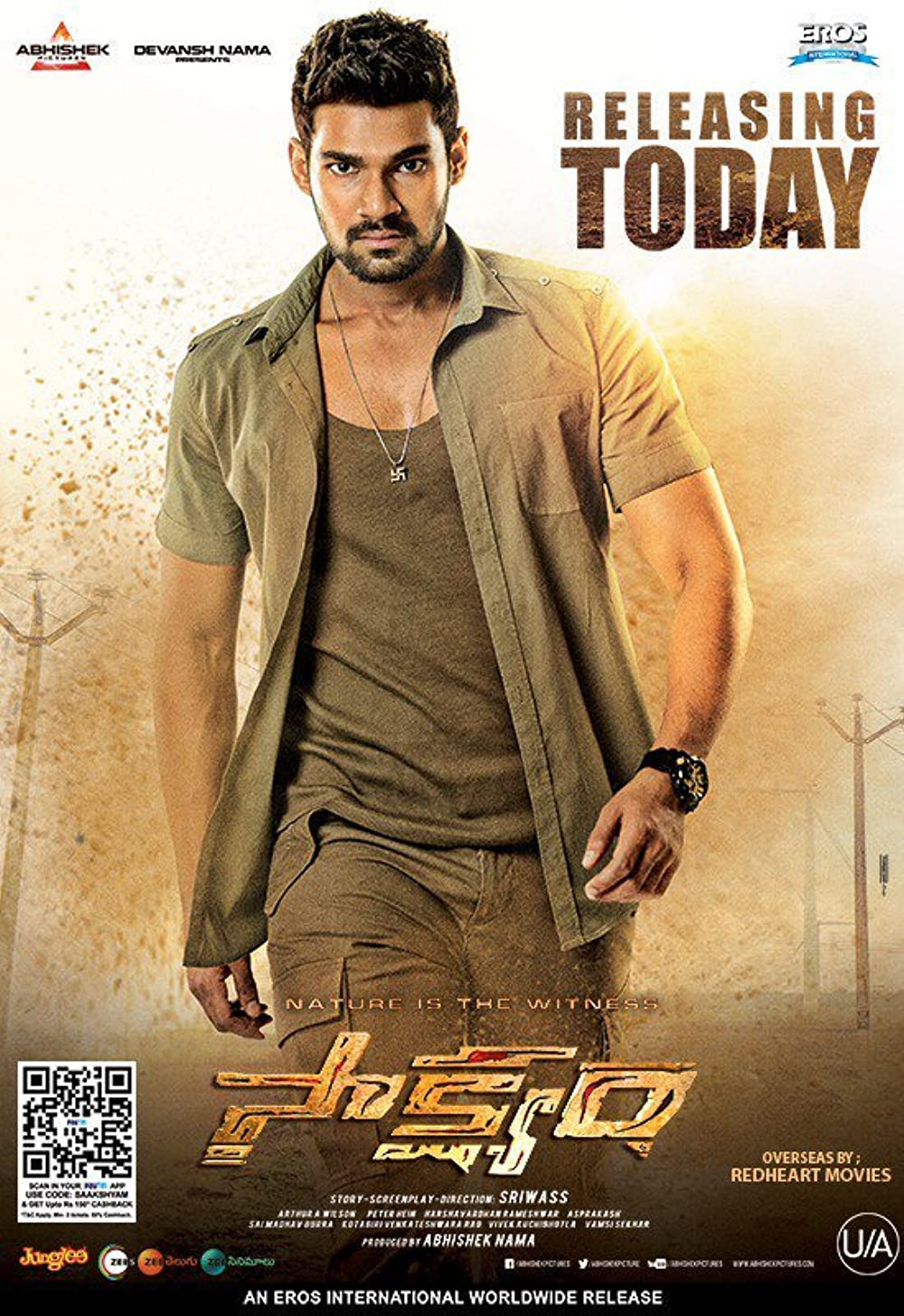 Pralay The Destroyer (Saakshyam) 2021 ORG Hindi Dubbed 1080p HDRip 1.91GB Download