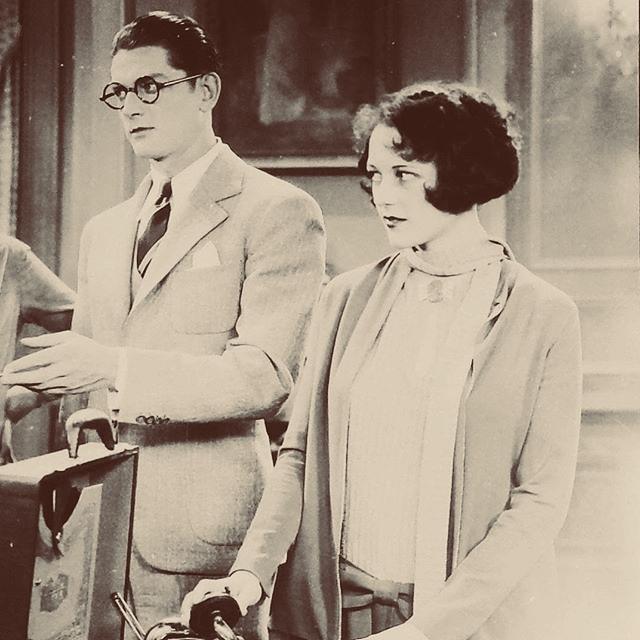 Sally Eilers and Hugh Trevor in Dry Martini (1928)