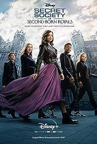 Niles Fitch, Isabella Blake-Thomas, Olivia Deeble, Peyton Elizabeth Lee, and Faly Rakotohavana in Secret Society of Second-Born Royals (2020)