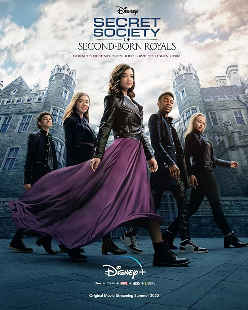 Secret Society of Second Born Royals 2020 English 720p DSNP HDRip ESubs 800MB Download