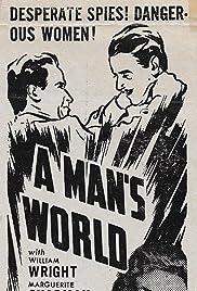 A Man's World Poster