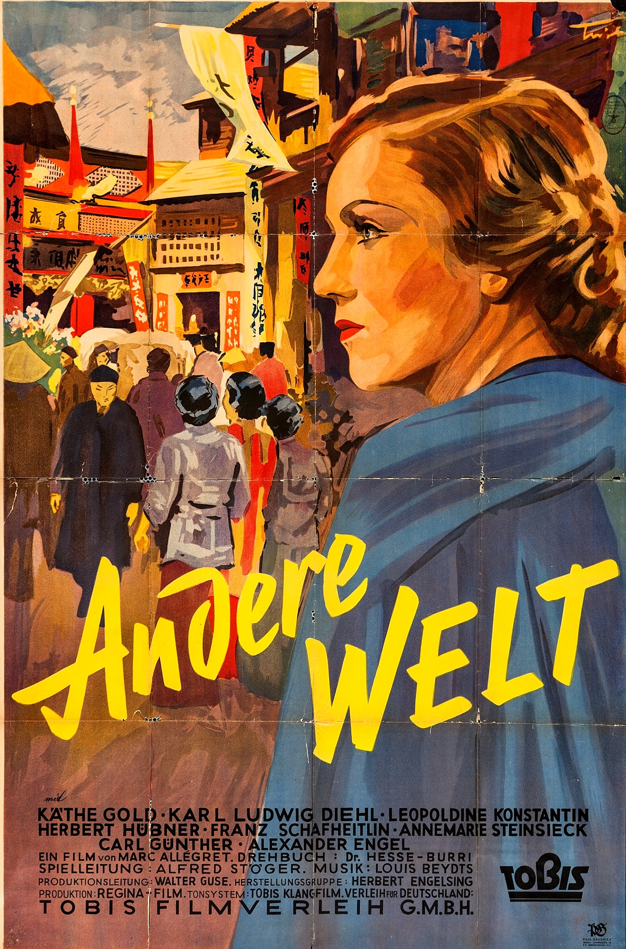 Käthe Gold in Andere Welt (1937)
