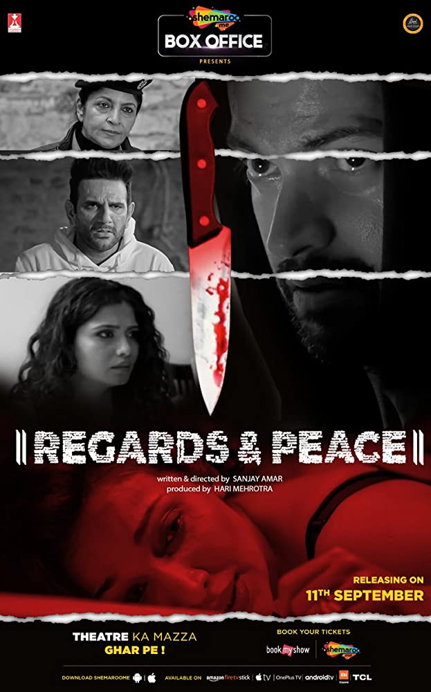18+ Regards and Peace 2020 Hindi Hot Movie 720p HDRip 900MB x264 AAC