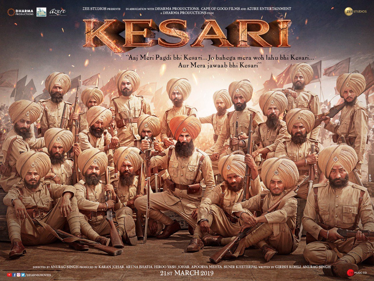 Kesari (2019) Film Indian Online Subtitrat in Romana