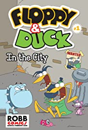 Floppy & Duck Poster