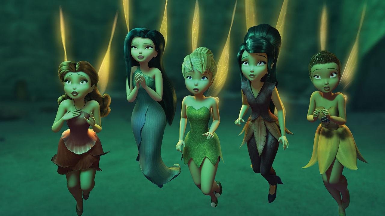 Lucy Liu, Raven-Symoné, Pamela Adlon, Mae Whitman, Megan Hilty in Tinker Bell and the Legend of the NeverBeast (2014)