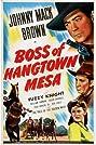 Boss of Hangtown Mesa (1942) Poster