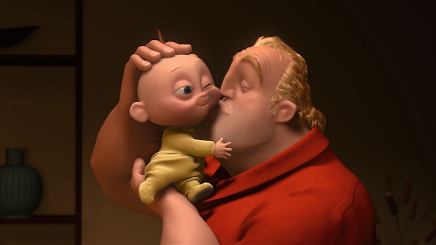 Craig T. Nelson and Eli Fucile in Incredibles 2 (2018)