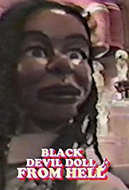 Black Devil Doll from Hell Poster