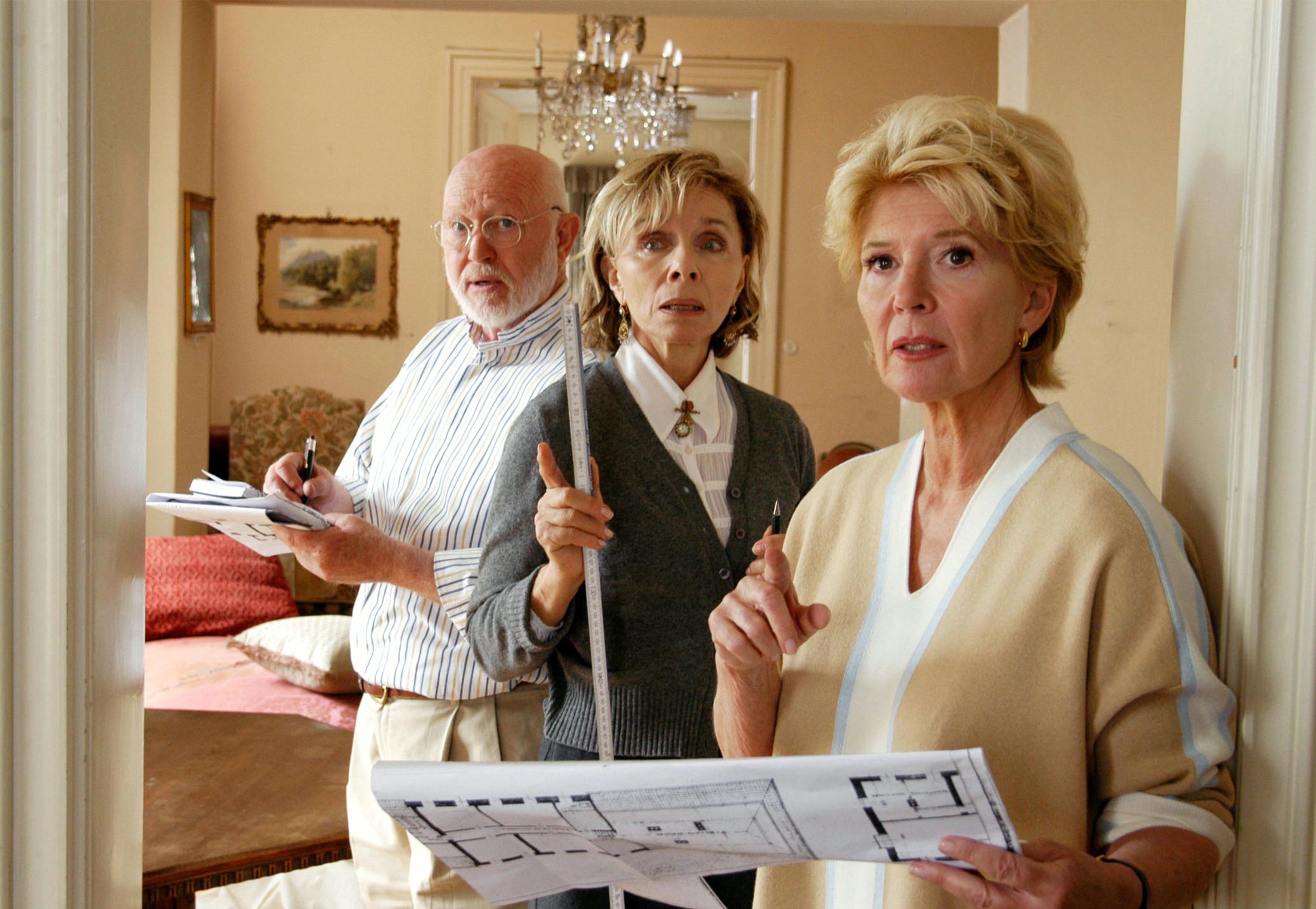 Christiane Hörbiger, Ernst Jacobi, and Monika Peitsch in Neue Freunde, neues Glück (2005)