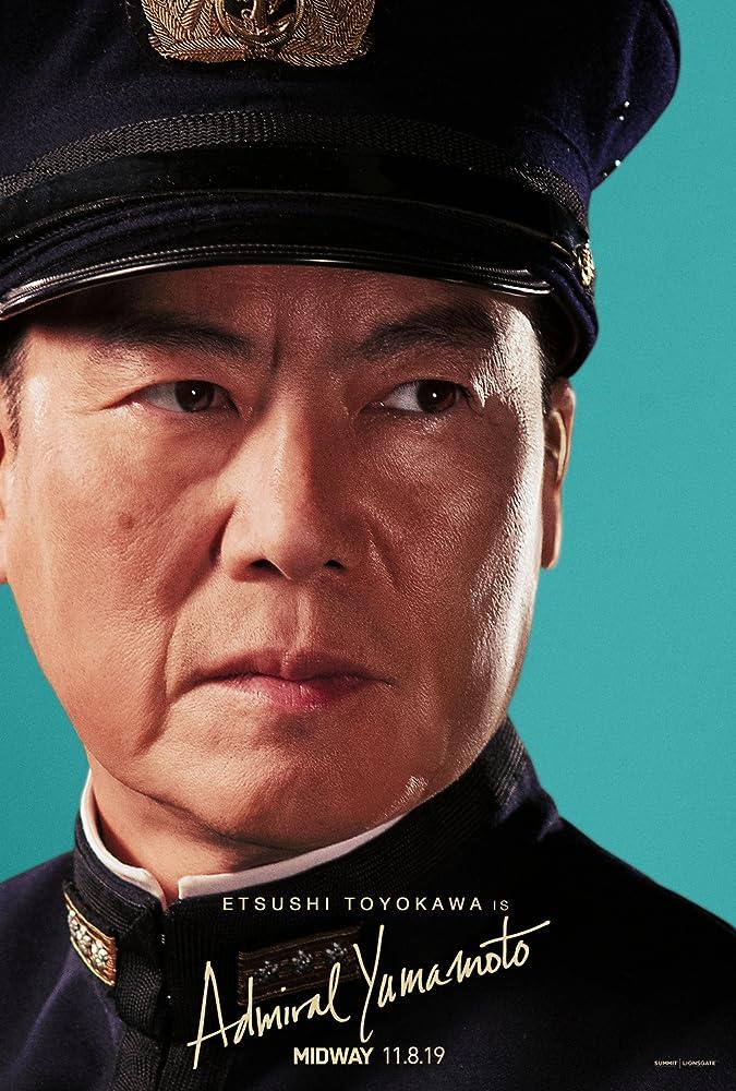 Etsushi Toyokawa in Midway (2019)