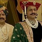 Romit Puri and Mohd. Zeeshan Ayyub in Manikarnika: The Queen of Jhansi (2019)
