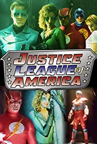 Michelle Hurd and Matthew Settle in Justice League of America (1997)
