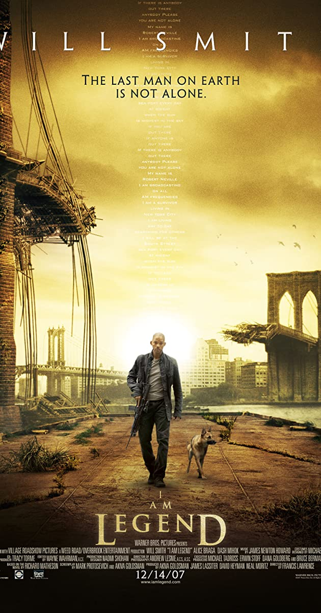 I Am Legend (2007) - Dash Mihok as Alpha Male - IMDb