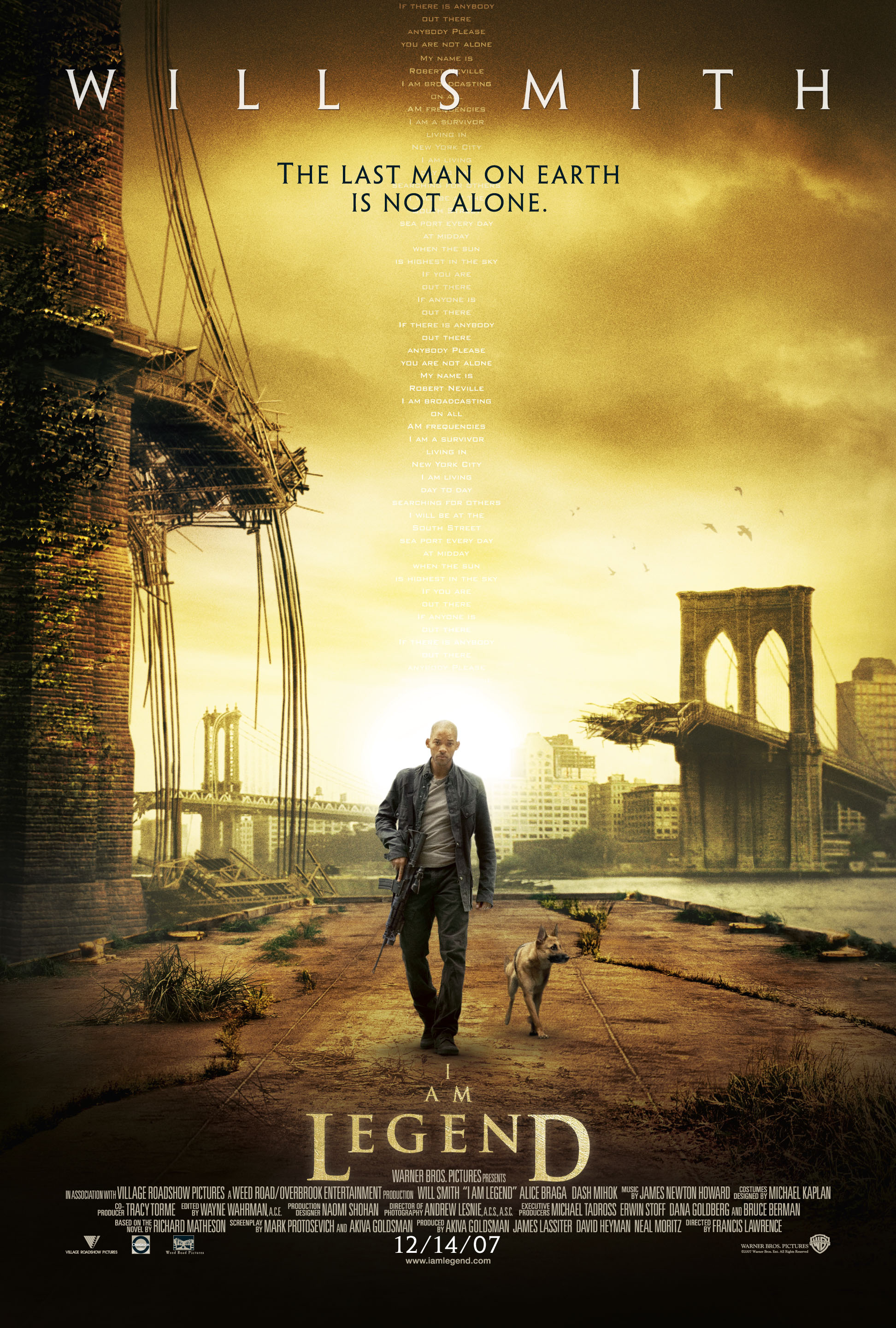 I Am Legend (2007) BluRay 720p, 1080p & 4K-2160p