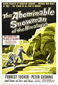 The Abominable Snowman Poster - Movie Forum, Cast, Reviews