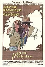 Geneviève Bujold and James Caan in Un autre homme, une autre chance (1977)