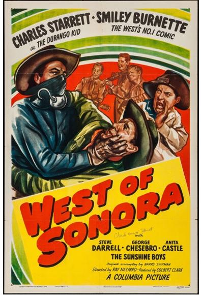 The Sunshine Boys, Smiley Burnette, Freddie Daniel, Charles Starrett, J.D. Sumner, and M.H. Richman in West of Sonora (1948)