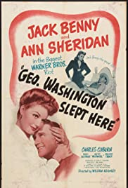 George Washington Slept Here Poster